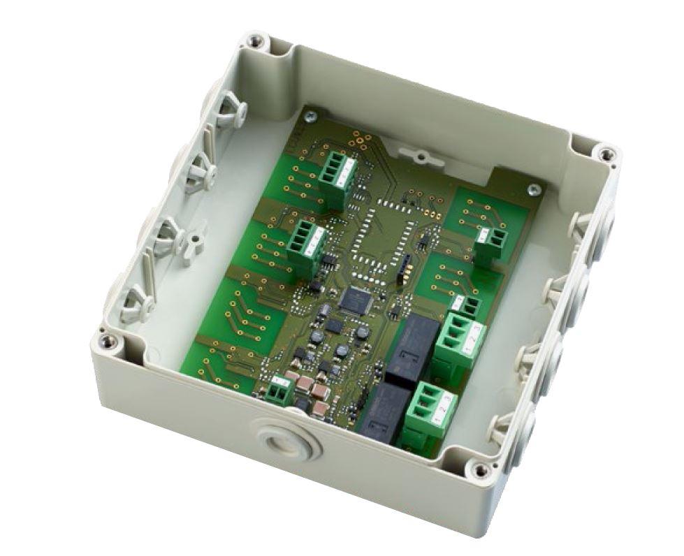 Блок керування EVVA Xesar для настінного зчитувача