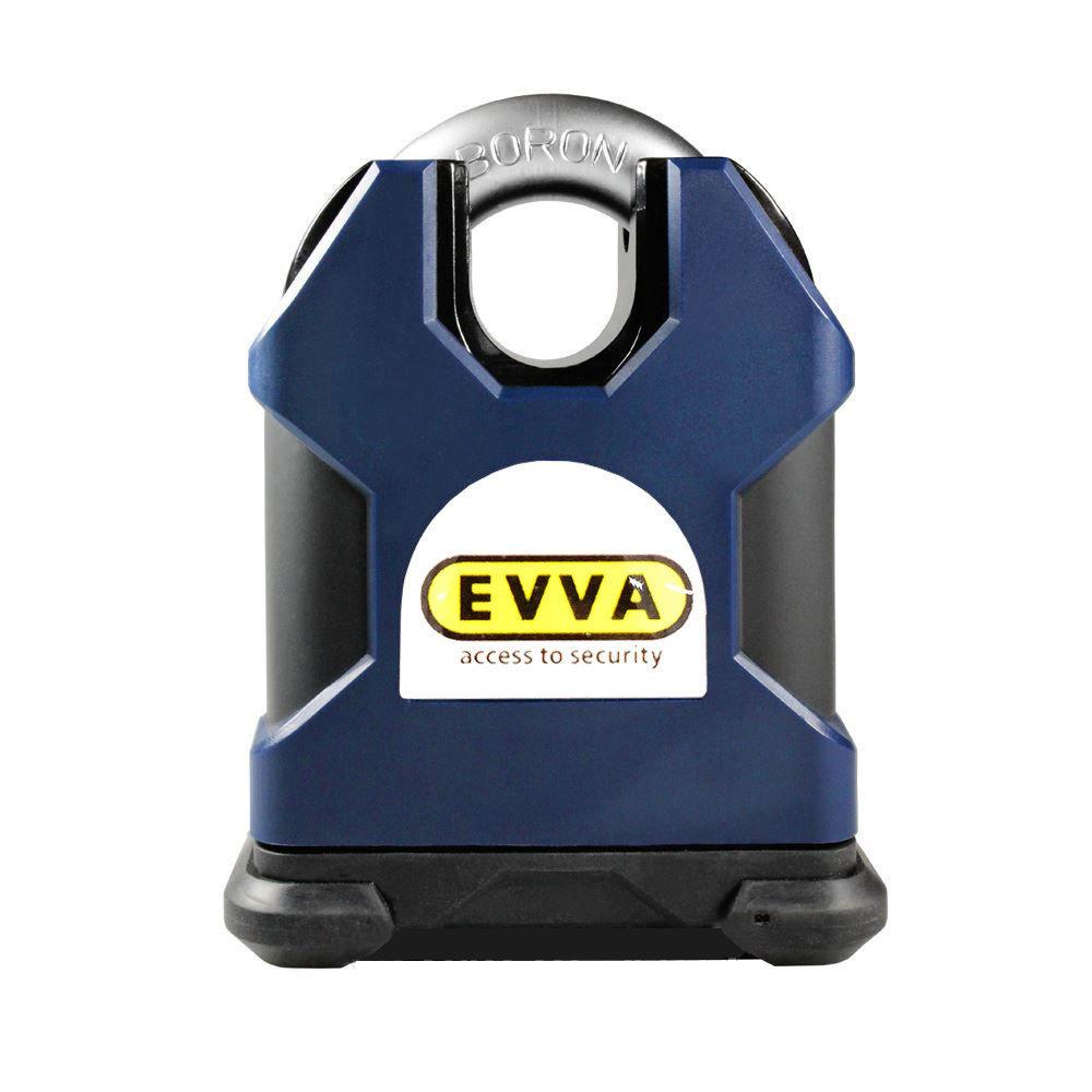 Замок навісний EVVA SS80CS + EPS 2 ключа