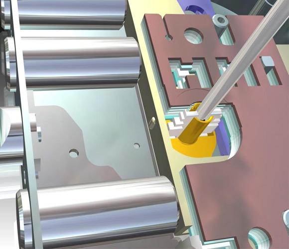 інтерактивні та магнітні елементи замка з функцією MRX