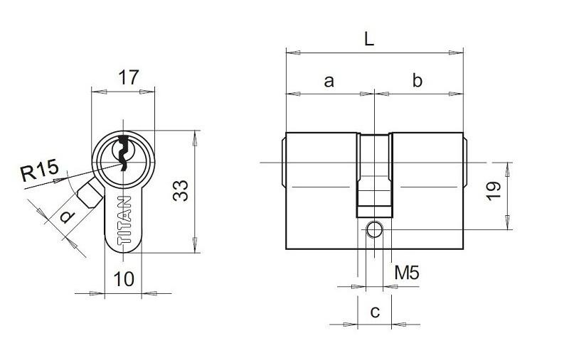 схема циліндра титан к1