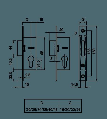 схема європортала додаткового замка