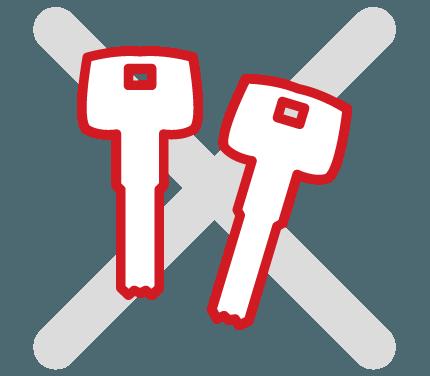 Захист від нелегального копіювання ключа