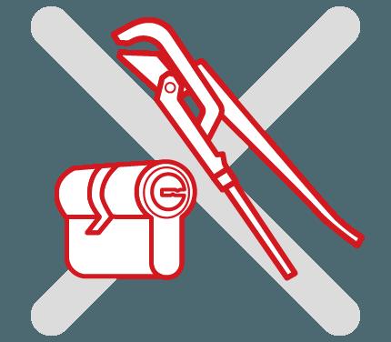 Захист від силового відмикання