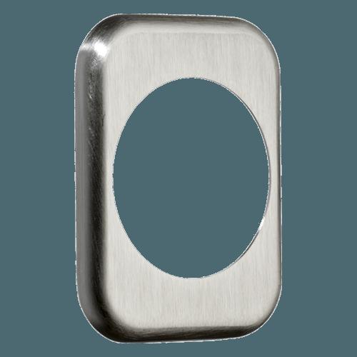 квадратна накладка azzi fausto me50 матовий хром
