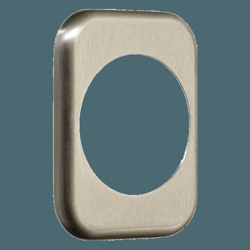 квадратна накладка azzi fausto me50 нікель сатин