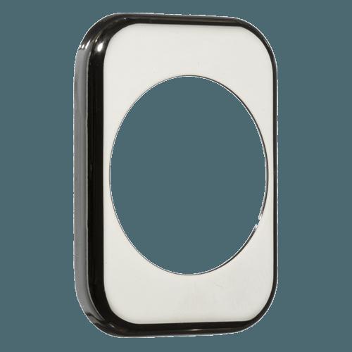 квадратна накладка azzi fausto me50 полірований хром