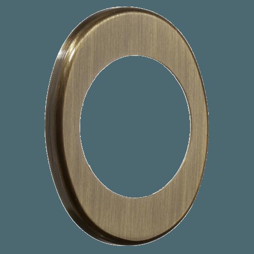 широка декоративна накладка azzi fausto me 85x70 бронза