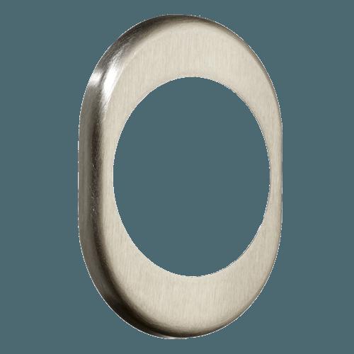 нікель сатинова декоративна накладка, дверна фурнітура