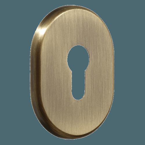 декоративна накладка для дверного циліндра azzi fausto my бронза
