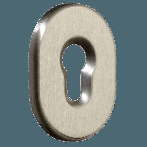 накладка на циліндр нікель сатин