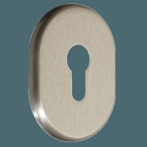 декоративна накладка для дверного циліндра azzi fausto my нікель сатин