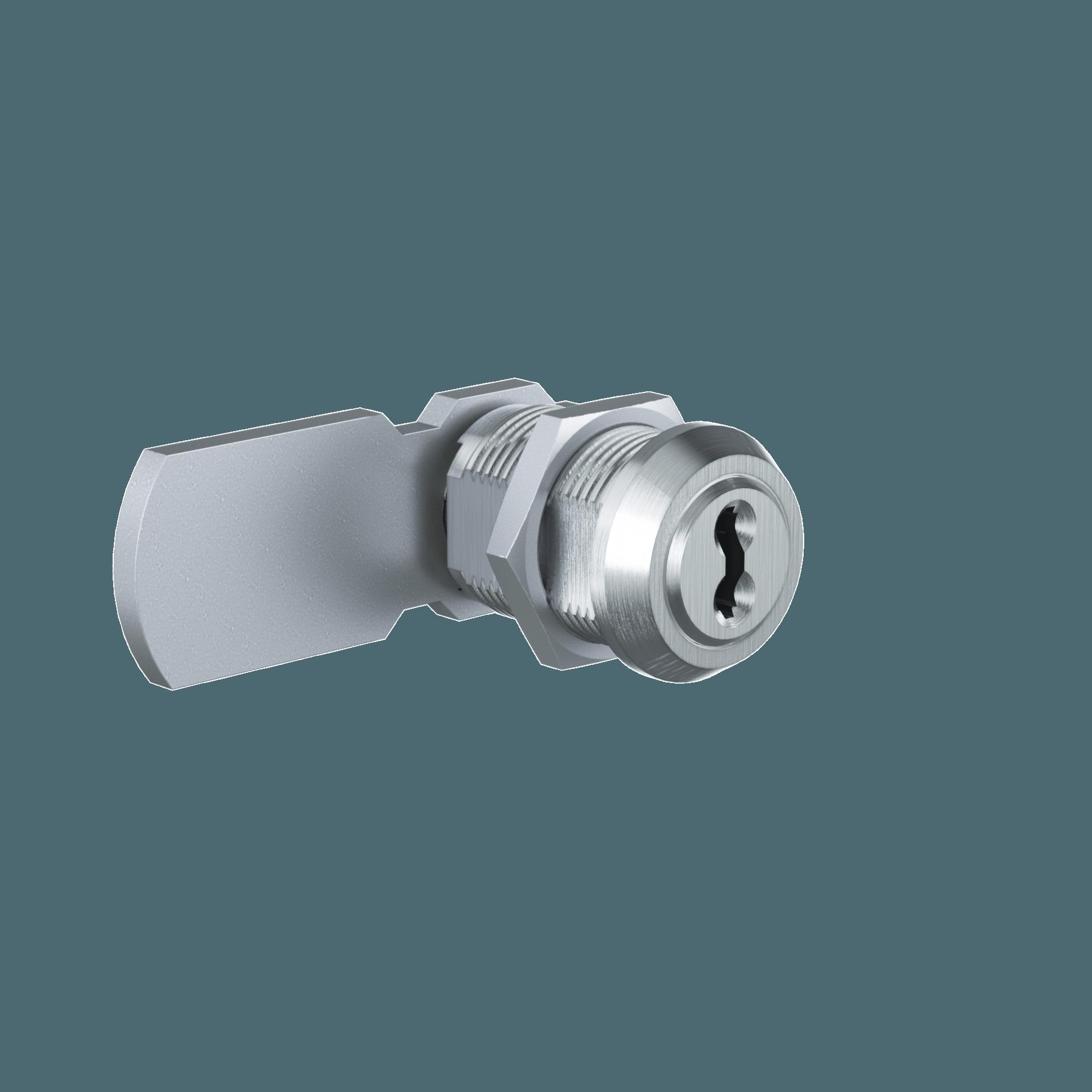 мебельний камерний замок MB19 Cam Lock на базі циліндра EVVA 4ks для майстер системи