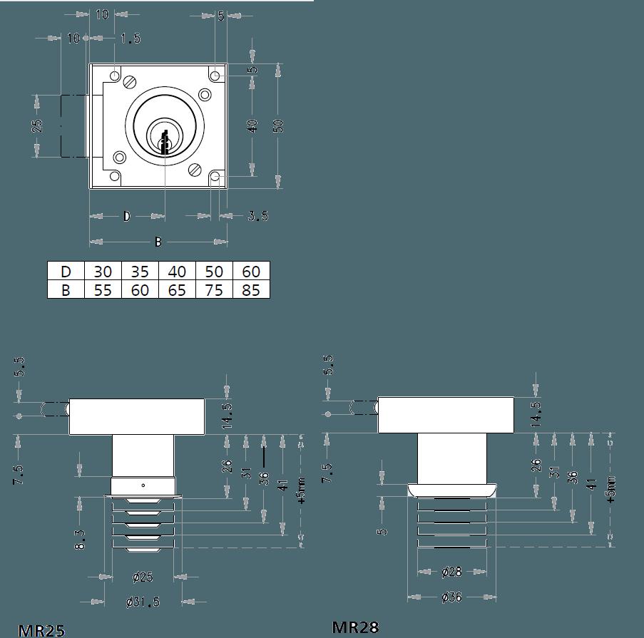 схема мебельного замка