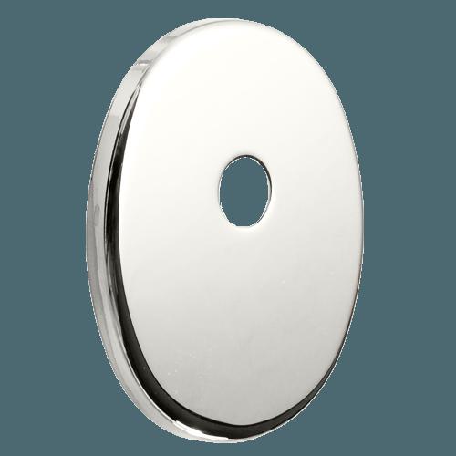 декоративна накладка під циліндр ключ-шток, полірований хром