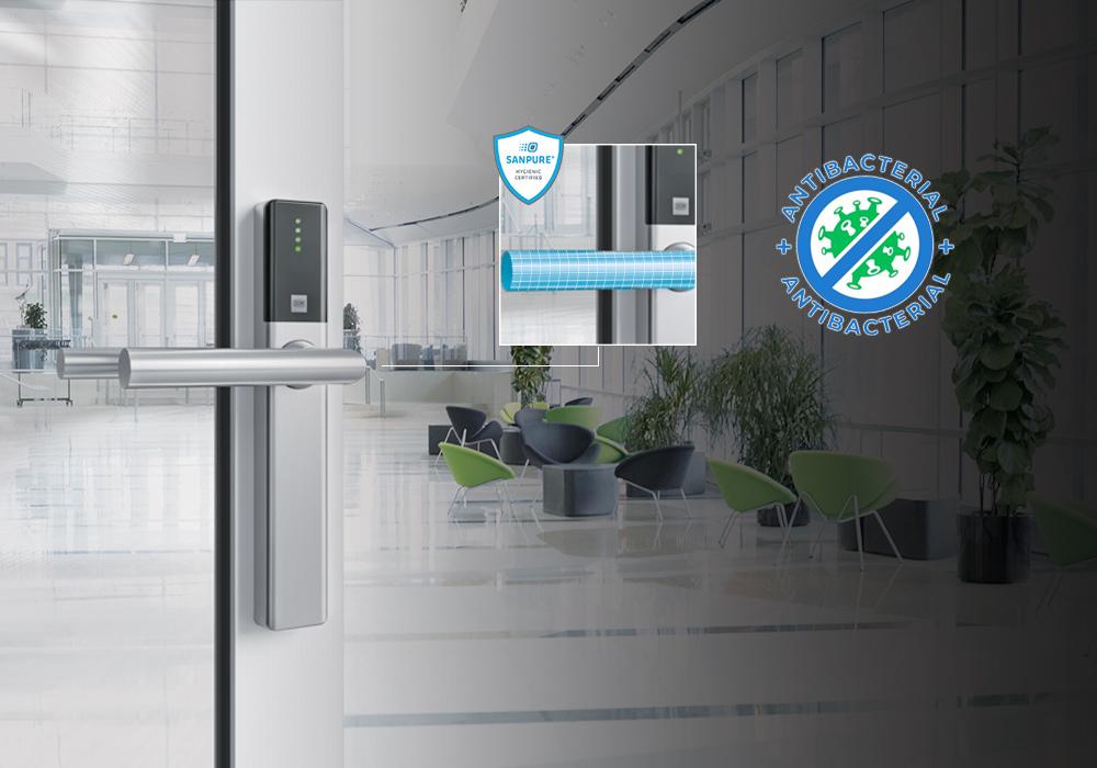DOM Security випустила нові антибактеріальні цифрові дверні ручки, циліндр та антипанічні решітки