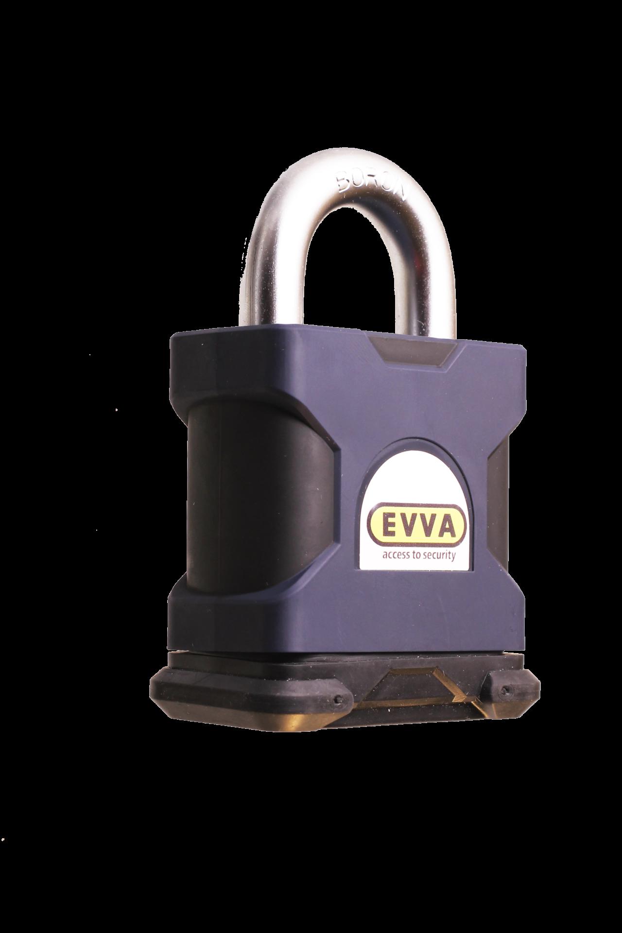 Замок навісний EVVA SS55 + 4KS 2 ключа